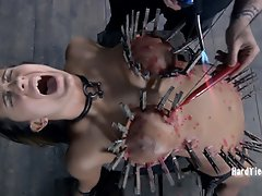Cyd Black does things to Trina Michaels that test the limits of her...