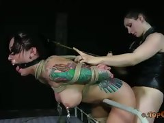 Sister Dee has a soft spot for hot women in tight bondage. It makes...