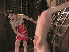 Mean Bitch Mistress demands to Ass Fuck her slave...