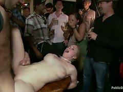 Penny Pax gets tied tightly and humiliated in public. Fisting,...