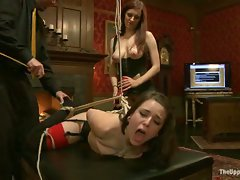 Pixie will weather the tight bondage and corporal Iona practices upon...