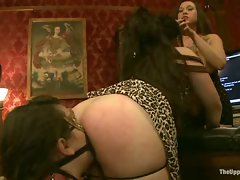 During this update the party moves from dinner to the lounge for some...