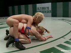 Tourney continues 10th vs 9th: Big titted Samantha Sin takes on the...