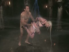Steven and Lorelei have hot, wet bondage and sex!...