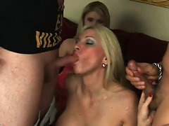 When a young horny guy wants to wife swap for a little MILF action,...
