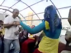 Arab Hijabi Whore Dancing 10