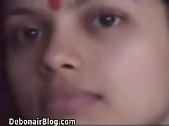 indian sexy  newly married honeymoon couple caught in action 1