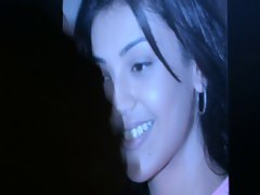 cumming on kajal, indian actress