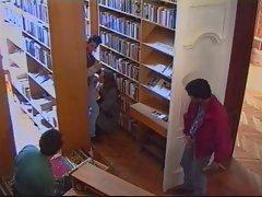 Russian Teen fucked in Russian libary
