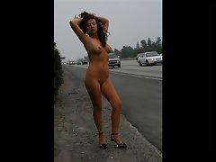 Diana Raspopova Nude in Public