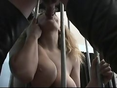 Caged fetish suck with Kiki