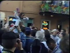 mardi gras flasher getting groped