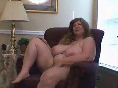 bbw in stocking