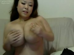 CUTE ASIAN WITH GIANT TITS