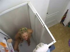 Hidden Cam Shower Sharing