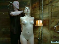 Naked sexy slave Jynx Maze is just 19 and has