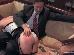 Amber Rayne is Steve Holmes obedient wife. Well trained woman