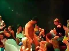Sluts touching naked hot strippers
