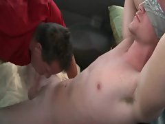 Straight guy gay sucked in bus