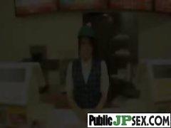 In Public Hot Asian Get Hard Nailed vid-17