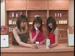 Japanese bitches swallow cock