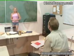 Teacher and student have sex - HornBunny.com