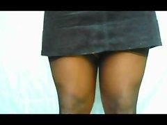 TGirl Mini Skirt Panty Wash 115