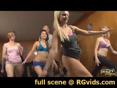 Jodi, Bliss, Destiny and Ana Get Stretched Out! - full scene www.RGvids.com