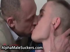 Duke and Thierry Schaffauser in super gay porno