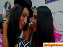 Hot Teens Girls Get Hard Banged video-19