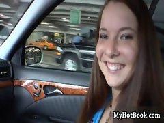 Kirin Desado was walking through a parking garage