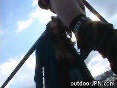 Big boobed asian hot babe Aoi Mizumori