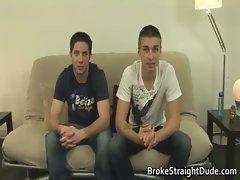 Straight Ashton &amp_ Jake having gay sex gay boys
