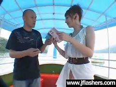 Teen Asian Flash Her Boobs And Get Nailed video-15