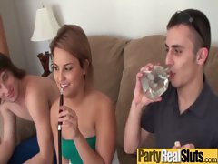 Hardcore Fucking Sluts Teen Girls At Party video-16