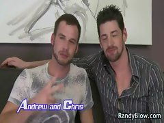 Gay clips of Andrew and Chris fucking gay boys
