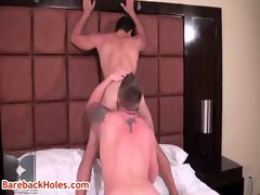 Travis Turner and Joey Milano hard core gay video