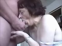 Granny Hungry for Prick
