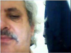 Attractive TURKISH DADDY CUM ON CAM