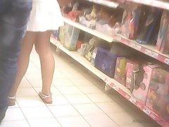 Voyeur supermarket