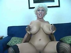 Really Luscious Slutty mom Having Sex With a BBC And Cum