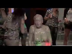 Fierce Mud Wrestling - Cuties Give Us A Fabulous Show