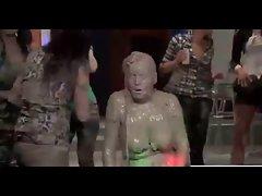 Fierce Mud Wrestling - Cuties Give Us A Fabulous Show