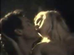 Lewd blond softcore bar sex