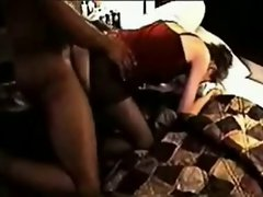 Husband records White dirty wife screwing her BBC Lover (pt-2)