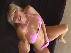 Awesome handjob by mamma Keri Lynn