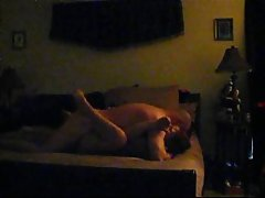 Orgasmic fuck partner and vocal from hidden cam