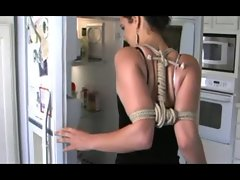 tied up cooking