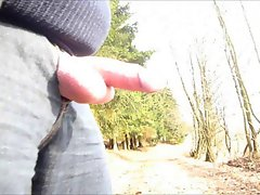 Outdoor Phallus in the Forest