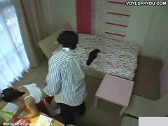 Secret hidden cameras student's room